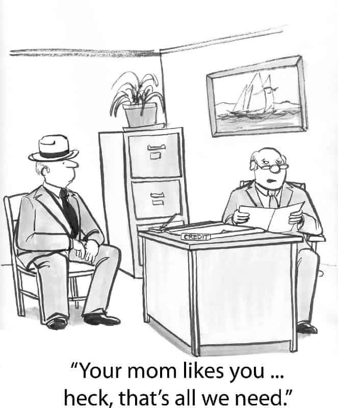 Testimonial Cartoon
