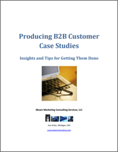 B2B Customer Case Studies - White Paper