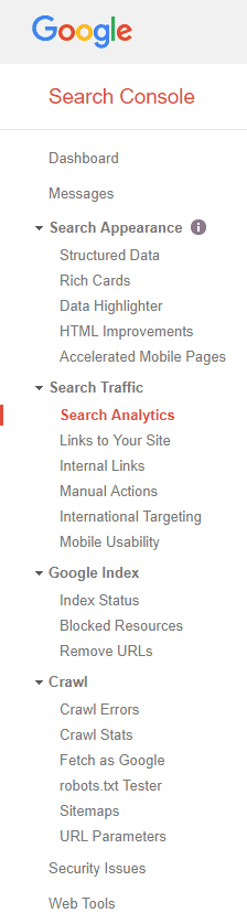 Google SEO Tools - Google Search Console Features