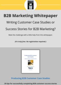 b2b customer case studies whitepaper