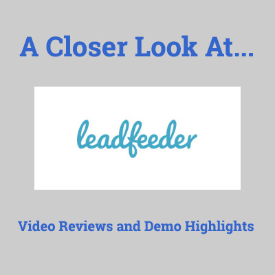 leadfeeder software reviews