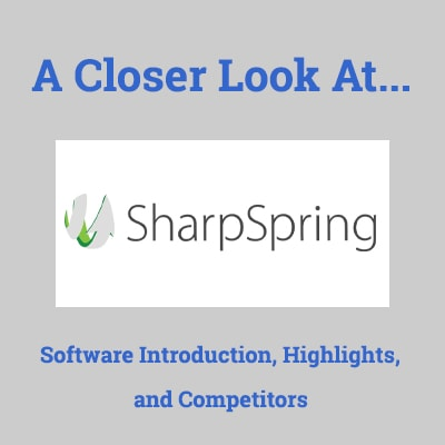 sharpspring reviews alternatives and competitors