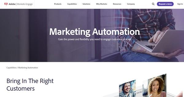 marketo b2b marketing automation software