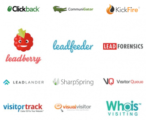 vendor logos - website visitor tracking software