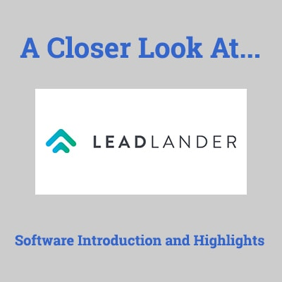 leadlander review competitors