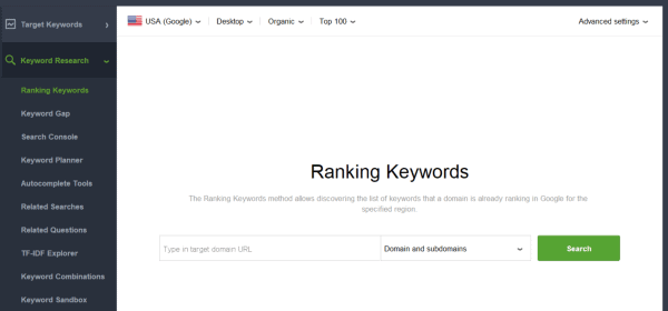 seo competitor analysis ranking keywords